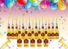 Birthday Wishes, Birthday Cards, Happy Birthday, Beer Day, Holiday Festival, Holidays And Events, Bridal Shower, Congratulations, Birthdays