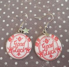 Boucles hirondelles good luck étoile Mimischkä