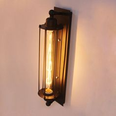 Arch way option Svadis Industrial 1 Light Cylinder Black Wall Sconce - Indoor Sconces - Wall Lights - Lighting