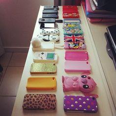 Cute iPhone cases!(: