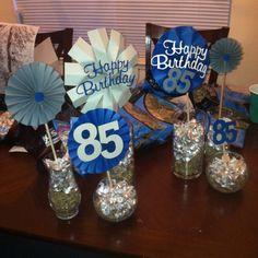 Grandpaa 85th Birthday Party Easypeasybynoeeazy