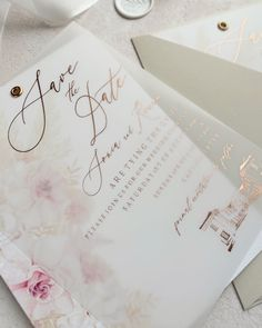 Boho luxury wedding invitations with watercolour floral illustrations and hot foiled vellum overlay in rose gold. Luxury Wedding Invitations, Wedding Stationery, Floral Watercolor, Watercolour, Eye Photography, Watercolor Wedding Invitations, Floral Illustrations, Beautiful Hands, Overlay