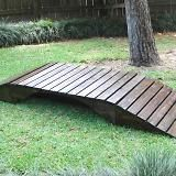 I need a small bridge for the lawnmower to cross the sometime creek in the backyard