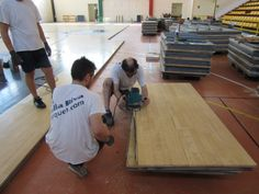 The removable #floor of Gallarate required numerous modifications and adaptations of the #panels