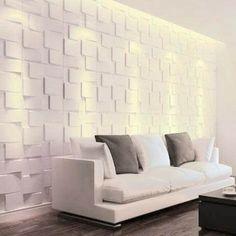 Home Design Decor, House Design, Home Decor, Vinyl Wall Panels, Decoration, Living Room Designs, 3 D, Love Seat, Sweet Home