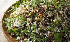 Buckwheat and rice salad with dried cherries and hazelnuts via Yotam Ottolenghi