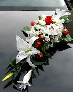 fleurs mariage montage capot voiture rose pinterest. Black Bedroom Furniture Sets. Home Design Ideas