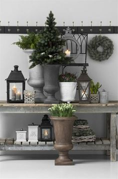 Home Decor Ideas: Post Holiday Winter Decoration for Your Home Home Decor Accessories, Decorative Accessories, Vibeke Design, Outdoor Living, Outdoor Decor, Christmas Decorations, Holiday Decor, Christmas Inspiration, Color Schemes