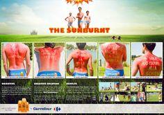 Les Cosmétiques Sun Cream: The Sunburnt