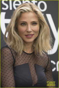 Elsa Pataky Is Sleek & Sexy in Black Outfit for Women's Secret: Photo #3473645. Elsa Pataky attends a photo call for Women's Secret in a sleek and sexy black outfit on Tuesday (September 29) in Madrid, Spain.    The 39-year-old actress and…