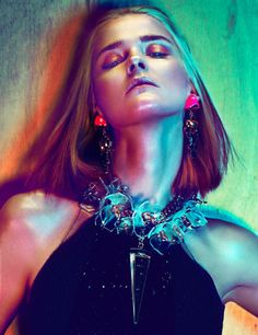 Carmen Kass by Txema Yeste for Interview Germany May 2012