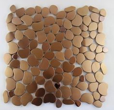 hot sale metal irregular  mosaic wall tile stainless steel  metallic decoration mosaics wall elegant new home improvement-in Mosaics from Ho...