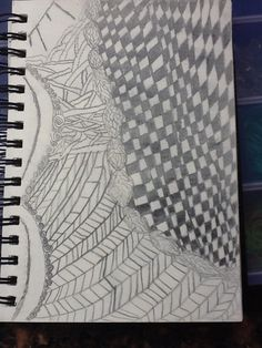 A drawing by Jacq. A different type of drawing can u see what it is? Many people think different things