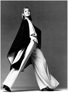 Fashion icon, Lauren Hutton