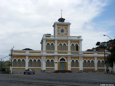 São Félix, Bahia - Brasil - antiga estação ferroviária