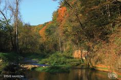 Little Paint Creek at Yellow River State Forest by Steve Hanson #Iowa