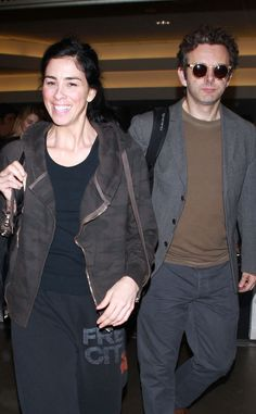 Michael Sheen kept a low profile, under rounded sunnies with a translucent yellow finish, as he touched down at LAX.