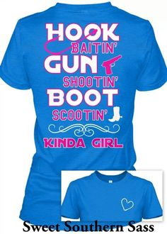 Don't mess with a country GIRL!!