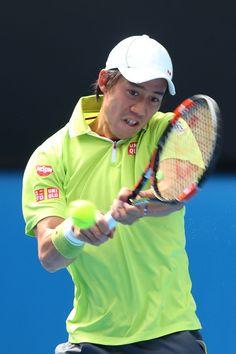 Kei Nishikori Photos - Australian Open: Day 8 - Zimbio