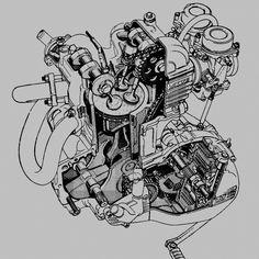 Bwm f 650 engine