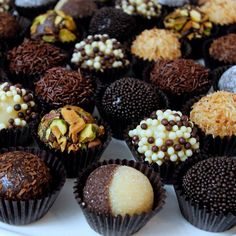 Brigadeiro Chocolate Truffles - organic Chocolates. www.mybrigadeiro.com