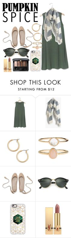 """""""Coffee date (I wish I actually had a coffee date :'("""" by slightly-invisible ❤ liked on Polyvore featuring Gap, Madewell, Nordstrom, Accessorize, Ray-Ban, Casetify, Yves Saint Laurent and Guerlain"""