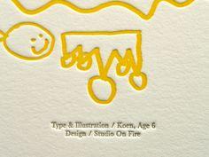 """Golden Rule Poster"" type & illustration by Koen,..."