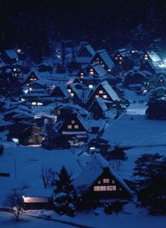 Gokayama Villages, Toyama © Kazuyoshi Miyoshi/PPS