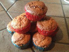 A bit healthier basic muffins recipe Muffin Recipes, Muffins, Tasty, Baking, Breakfast, Healthy, Sweet, Kitchen, Food