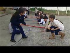 4 atividades com cabo de vassoura e corda trabalhando LATERALIDADE! - YouTube