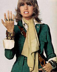 Beshka by Gianni Penati for Vogue, 1970.