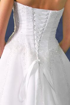 Alternative to Zipper Adjustable Lace-up Back Corset Kit White Ivory Pink NEW #LaceeisCorset
