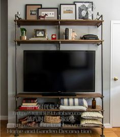 diy pipe tv stand - Google Search