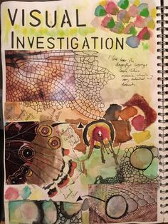 47 best ideas for art projects gcse sketchbook pages student A Level Art Sketchbook, Sketchbook Layout, Sketchbook Pages, Sketchbook Inspiration, Sketchbook Ideas, Book Libros, Ap Studio Art, Pop Art, Insect Art