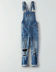 I'm in love with these boyfriend distressed overalls