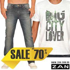 Aproveite nossa promoção para arrasar na moda! Até 70% de desconto! *Lojas de Uberlândia, Itumbiara e e-commerce.