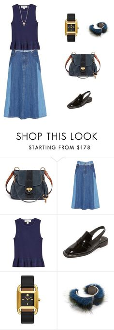 """Outfit For Errands"" by chingjade ❤ liked on Polyvore featuring Chloé, Sea, New York, Diane Von Furstenberg, Free People, Tory Burch and Salvatore Ferragamo"