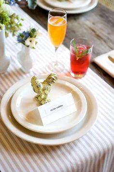 #Brunch #Wedding Place Setting