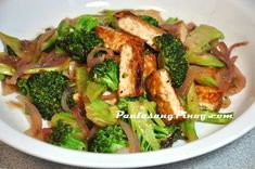 Tofu and Broccoli stir fry is a tasty dish that you can cook for lunch or dinner. The good thing about this recipe is its ease in preparation and the ingredients are readily available in most supermarkets.  As I mentioned, this dish is easy to make. All you need are slices of extra-firm tofu and broccoli florets. The tofu needs to be fried first