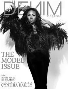 Cynthia Bailey: Denim Magazine