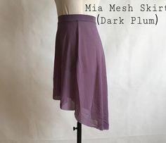 Ballet Wear, Dance Accessories, Formal Skirt, Plum Color, Dance Outfits, Dance Wear, Mid Length, Leotards, Color Mixing