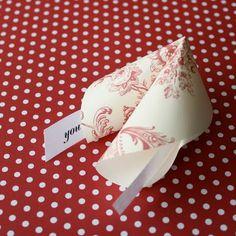 DIY - TUTORIAL - Paper Fortune Cookies