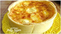 Quiche de Palmito Quiches, Cheesecake, Pasta, Frozen Meals, Slow Food, Light Recipes, Easy Cooking, Quick Meals, Macaroni And Cheese