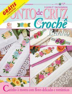 Cross Stitch Magazines, Knitting Stitches, Cross Stitch Rose, Cross Stitch Bookmarks, Cross Stitch Embroidery, Diy And Crafts, Cross Stitches, Modern Embroidery, Smocking