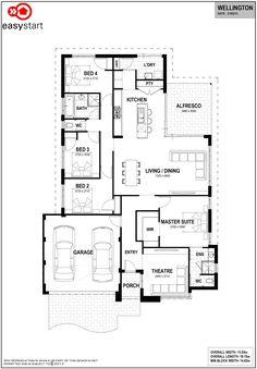 Wellington   Easystart Home Designs Perth