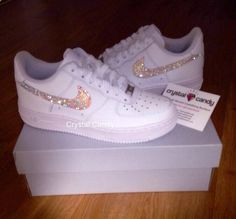 Nike+Air+Diamond+Encrusted+Rhinestones+Air+Force+1 Our+items+are+ ... cc8037cce