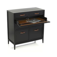 Newman Home Office in Desks | Crate and Barrel