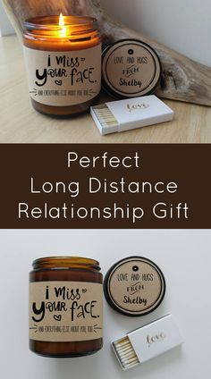 I Miss Your Face Hand Poured Soy Candle available in 2 size options. Completely Handmade in Astoria, Oregon. Comes ready to gift in a lovely gift box. Long Distance Relationship Gift Missing You I Miss Your Face Candle Gift LDR | Gift for Boyfriend | Gift for Girlfriend | Holiday Gift | Miss You | #affiliate