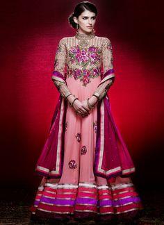Stunning Georgette Floor Length Anarkali Suit