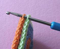 Decken-Quadrate zusammen häkeln                                                                                                                                                                                 Mehr